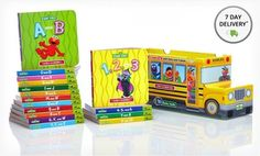 Groupon - Sesame Street Bus of Books. Free Shipping. in Online Deal. Groupon deal price: $19.99