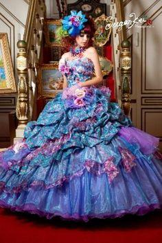 Sugar Kei ball gown