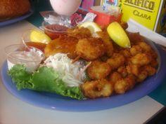 Fried Combo - Fish n Chips, Coconut Shrimp, Calamari