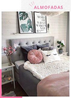 Habitaciones matrimoniales originales in 2019 спальня, уютная спальня, спал Diy Home Decor For Apartments, Diy Home Decor Bedroom, Bedroom Ideas, Modern Bedroom, Bedroom Small, Contemporary Bedroom, Bedroom Inspo, Cute Dorm Rooms, Pretty Bedroom
