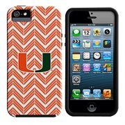 Miami Hurricanes Chevron iPhone 5 Tough Smooth Case - Orange