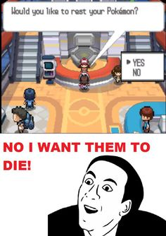 pokemon center | Pokemon Center You Dont Say