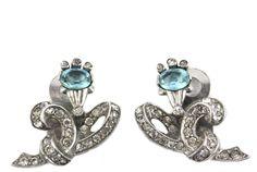 House of Lavande Vintage 1950's Mazer earrings