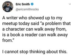 A reader will be hooked if your character can overcome the impossible that you set out for him Writing Memes, Book Writing Tips, Writing Characters, Writing Words, Writing Resources, Writing Help, Writing Skills, Writing Ideas, Writing Motivation