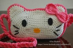 Free Crochet Pattern: Hello Kitty Purse