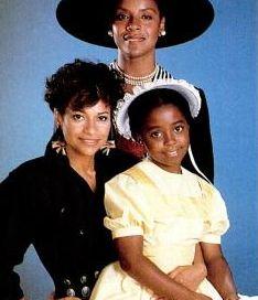 Ebony, Nov 1989 via Google Books with Keisha-Knight Pulliam & Phylicia Rashad for musical, Polly