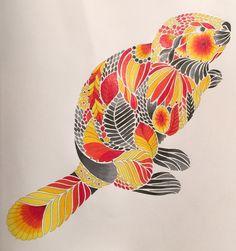 Millie Marotta #curiouscreatures #beaver