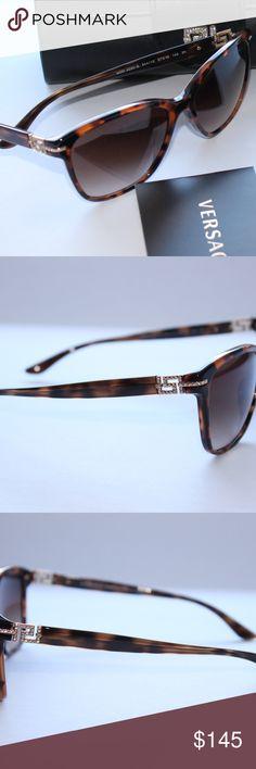 Versace-Women Havana-Gold 100% AUTHENTIC & Brand NEW Versace-Women Havana-Gold Sunglasses for women. Versace Accessories Sunglasses