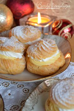 Hungarian Desserts, Hungarian Cuisine, Hungarian Recipes, Hungarian Food, Muffin Recipes, Cake Recipes, Dessert Recipes, Sweet Cookies, Cake Cookies