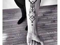 awesome Geometric Tattoo - 30 Mysterious Sacred Geometry Tattoo Designs