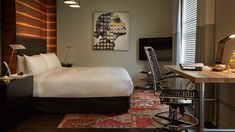 Experience hi-tech accommodations in San Francisco just around the corner from SoMa.