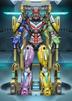 Cartoon Network, Pacific Rim Jaeger, Avengers Alliance, Power Rangers, Godzilla, Gundam, Robots, Cyber, Pokemon