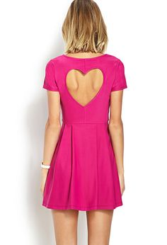 Sweetheart Fit & Flare Dress | FOREVER 21 - 2000065500
