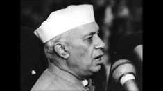 If you are an Indian, then you would know about Jawaharlal Nehru. He is one of the famous personalities of India. He was the one who took the lead after the independence of India and was the first prime minister on India. First Prime Minister, Jawaharlal Nehru, India Independence, History Pics, People Like, Indian, Prime Minister