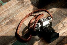 Barton 1972 Leather Camera Bag  Gordy's camera strap   WotansCraft   Panerai Leather strap  Leather Camera Bag