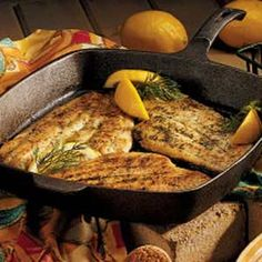 Sole or Flounder in Herbed Butter Recipe