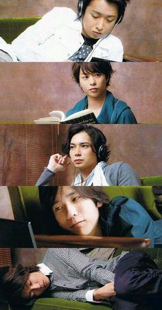 嵐 five members