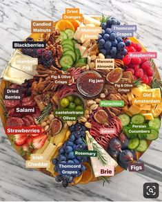 52 super ideas for fruit party platters antipasto Charcuterie And Cheese Board, Charcuterie Platter, Cheese Boards, Antipasto Platter, Meat Platter, Meat Cheese Platters, Charcuterie Ideas, Cheese Table, Snack Platter