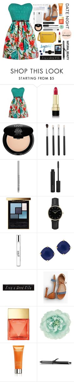 """Hello beautiful - date night"" by chickadee297 ❤ liked on Polyvore featuring Dolce&Gabbana, NYX, Yves Saint Laurent, ROSEFIELD, philosophy, Kate Spade, 3R Studios, Talbots, Michael Kors and Monsoon"