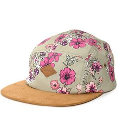 The Evie olive 5 panel hat from Empyre gives a chill vibe to complete any  outfit c557eaf5f08