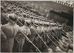 Georgii Zelma, Red Army Detachment Passing the Lenin Mausoleum, 1933