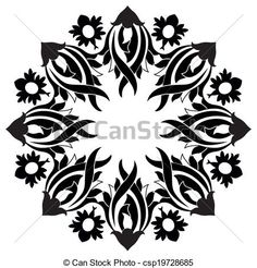 Ottoman motifs design series with n - csp19728685