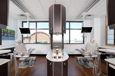 Cabinetry Lotus Family Dental - Dental Office Design by JoeArchitect in Aurora, Colorado