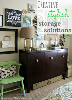 Our Fifth House - creative stylish storage solutions