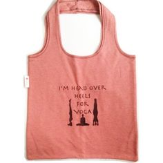 Yoga Head Over Heals Tote from Lois Eastlund for $30.00