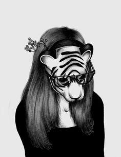 Peculiar by Peony Yip, via Behance