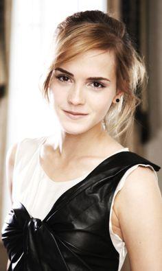 Emma Watson ♥ I really love the look!