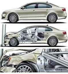 Volkswagen Technical Illustration Cars - Technical Illustration - Jim Hatch Illustration