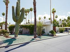 Mobile Home living in Palm Springs, gated communities by the hundreds there.