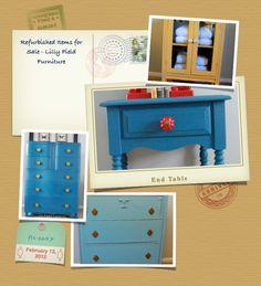 Wydeven Designs: Sharing Furniture Refurbishing Ideas - Hard Pieces