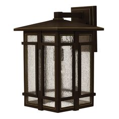 Tucker Oil Rubbed Bronze 18 Inch One Light Outdoor Wall Sconce Hinkley Wall Mounted Outd