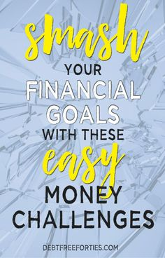 Any of these budget, savings and money challenges can be done for a day, week, month, or – if you're brave – can be carried on throughout the year. Smash your debt-free goals with these easy money challenges! No Spend Challenge, Savings Challenge, Money Saving Challenge, Money Saving Tips, Money Tips, Money Budget, Savings Plan, Financial Peace, Financial Goals