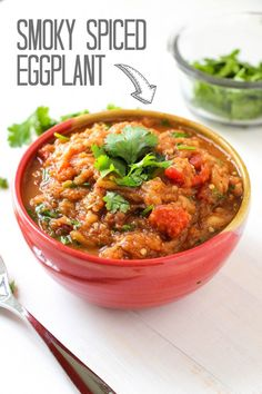 Smoky Spiced Eggplant. If you think you don't like eggplant TRY THIS! It's our favorite eggplant dish.