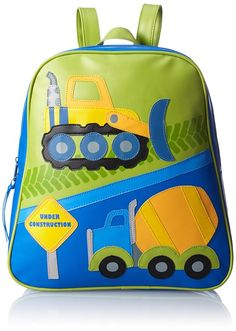 Amazon.com: Stephen Joseph Little Boys' Go Go Bag, Airplane, One Size: Childrens School Backpacks: Clothing