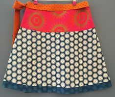 Jupe Portefeuille Bleue et Rose Femme - tissu shweshwe africain 100% coton - taille 38-42 Office Standard, Etsy, Fashion, Wallet, African, Skirt, Beauty, Fabric, Cotton