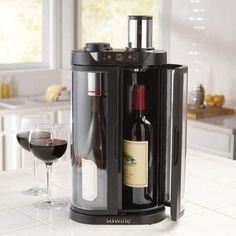 Una pequeña pero funcional enfriadora de vinos