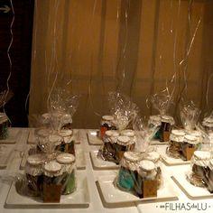 Bodas de Pérola - 30 anos de casamento - Festa - Como organizar - Lembrancinha útil - Kit Cafézinho - Bandeja café da manhã - As Filhas da Lu