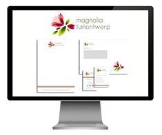 Huisstijl ontwerp voor Magnolia Tuinontwerp