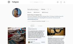 Brooks Notary & Litigation Sup ( Resume Writer, Business Planning, Connection, Social Media, How To Plan, Photo And Video, Life, Instagram, Shop Plans