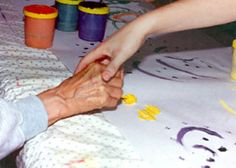 Art therapy for alzheimer's disease