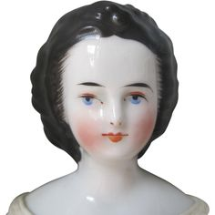 Exquisite Antique China Doll With Superb Features from lauriechristman on Ruby Lane