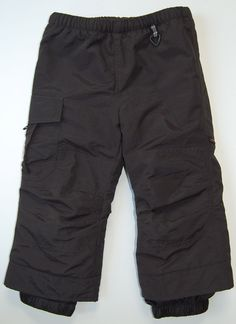 Obermeyer Snow Pants 3 Preschool Black Team OBX I Grow Ski Boys Girls #Obermeyer #SnowPants