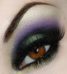 Fall Style... Deep shades of Amethysts & Emerald eye color
