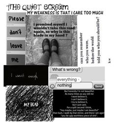 """""""Read the D...If you care"""" by bullying-stops-here259 ❤ liked on Polyvore featuring moda"""