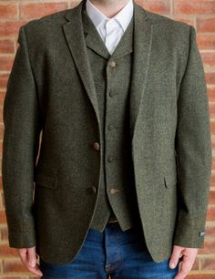 mens tweed coats - Google Search