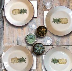 ¿Conoces las deliciosas vajillas decoradas a mano por Andrea Zarraluqi?